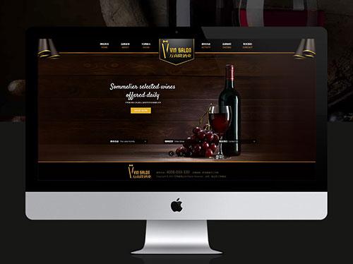 陇网天下网站建设红酒公司网站案例